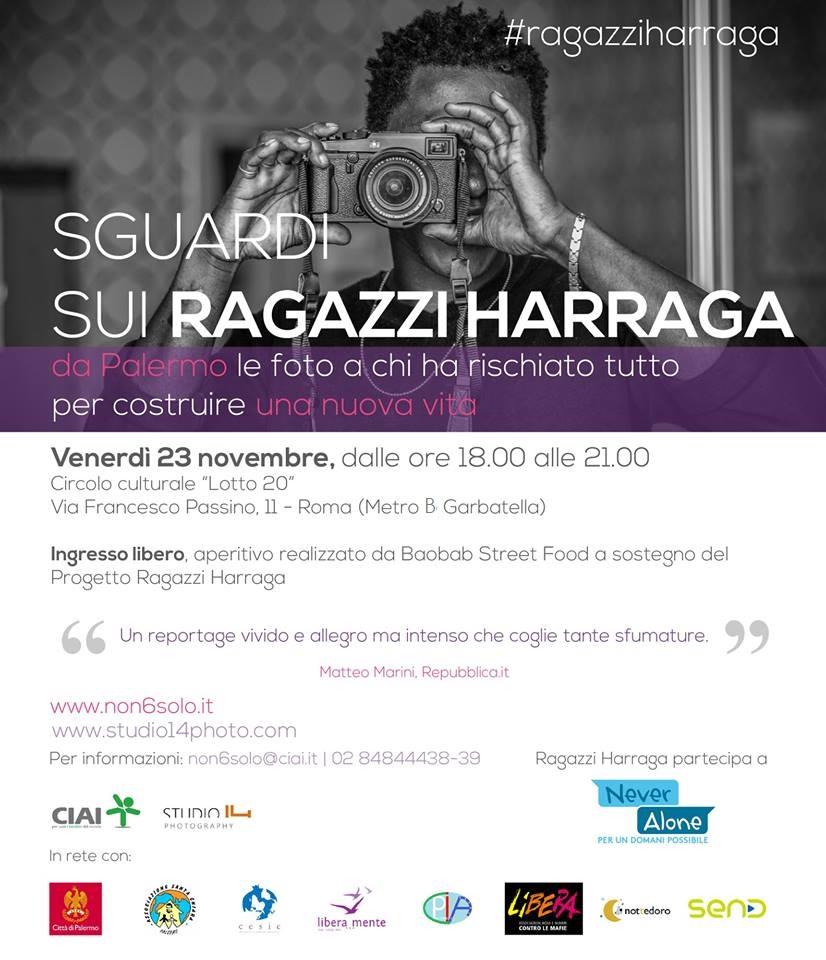 Invito elettronico - Ragazzi Harraga roma 6-06